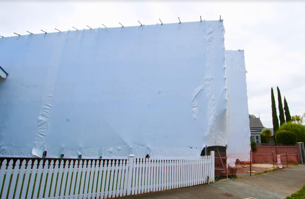 Building wrap auckland