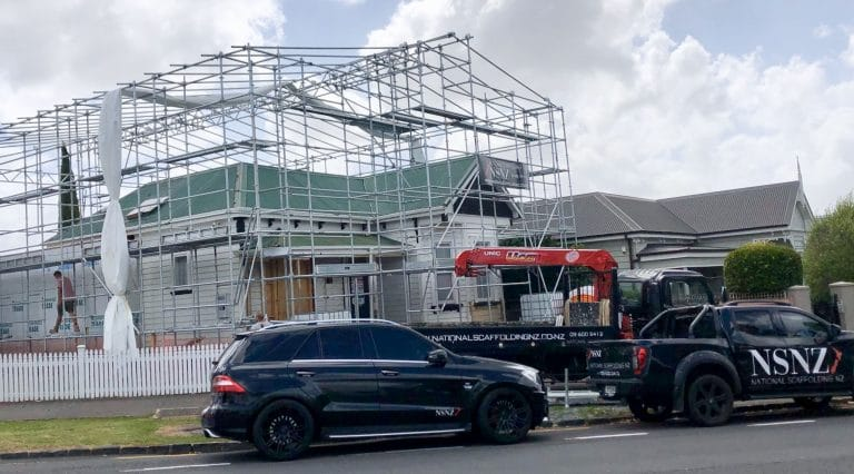 Scaffolding Hire Project in auckland