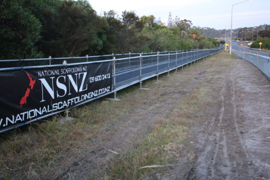 Hobsonville Watercare Walkway Scaffolding Hire