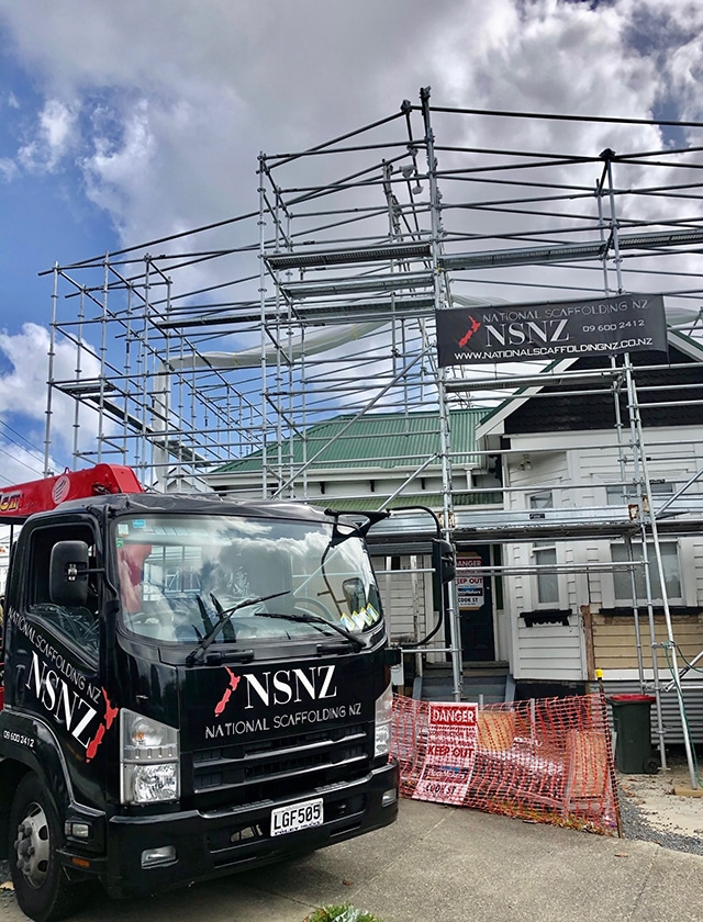 Residential Scaffolding Hire in Auckland