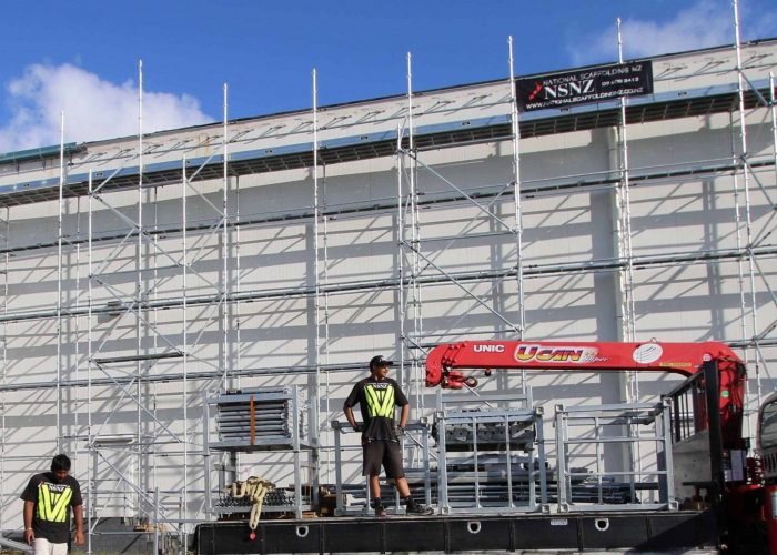 Commercial Scaffolding Hire